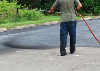 Can I Sealcoat My Asphalt Driveway in the Fall Grand Rapids Asphalt Paving